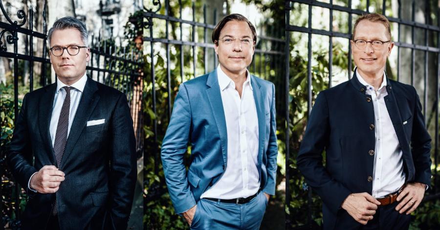 Jens-Wilhelm Oberwinter, Andreas von Oppen, Mark Lembke
