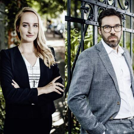 Viktoria Hermann and Tobias Glienke