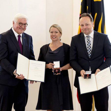 Daniel und Sabine Röder erhalten Bundesverdienstkreuz
